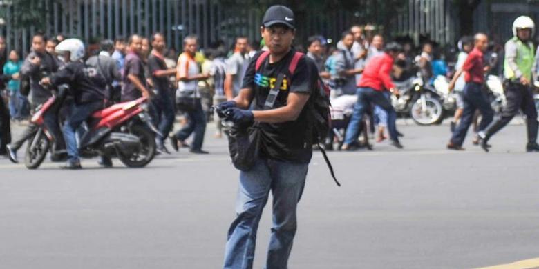 Rekam Jejak Pelaku Bom Sarinah Perampokan Bank Hingga Latihan