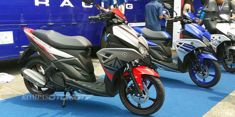 Yamaha luncurkan skutik balap aerox 125cc for Western hills honda yamaha cincinnati oh