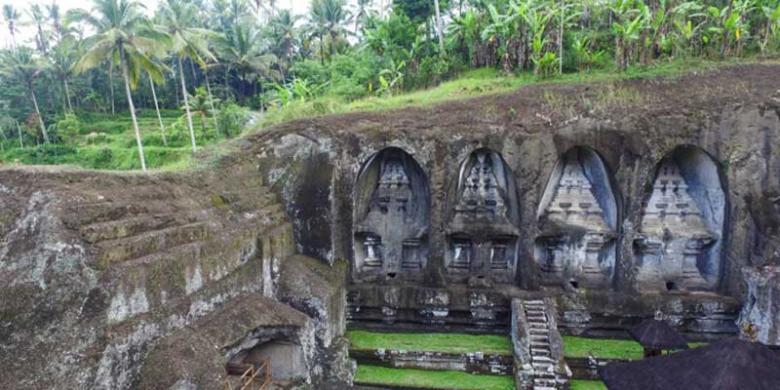 Gunung Kawi Ubud Bali, Persemayaman Abadi Raja Udayana Halaman all ...