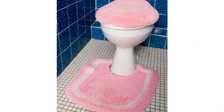 Penutup toilet duduk