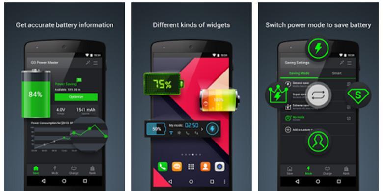 6 Aplikasi Penghemat Baterai Android