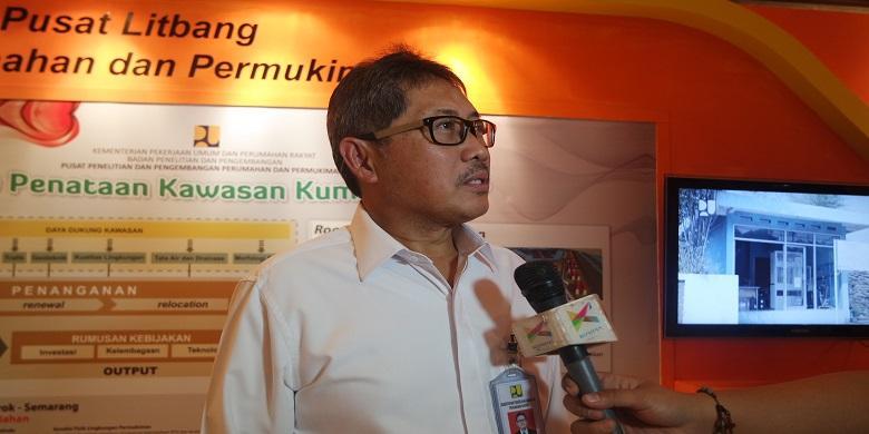 Direktur Jenderal Penyediaan Perumahan Kementerian Pekerjaan Umum dan Perumahan Rakyat RI, Syarif Burhanuddin