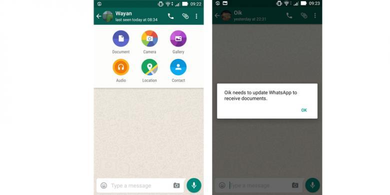 Whatsapp Sudah Bisa Kirim Dokumen Begini Caranya