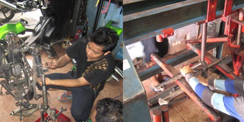 Cara Memperbaiki Fork Sepeda