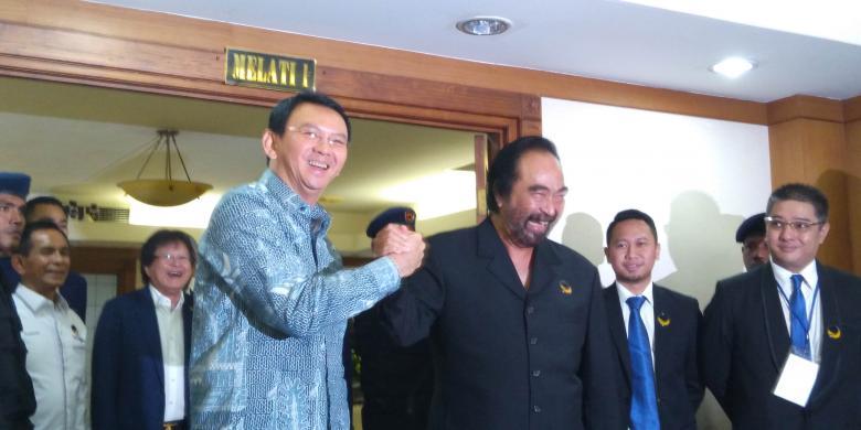 Gubernur Dki Diserang Kasus Reklamasi  Surya Paloh Sebut