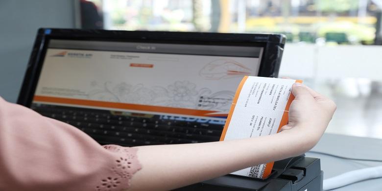 Bagaimana Cara Cetak Boarding Pass Dan Check In Di Stasiun