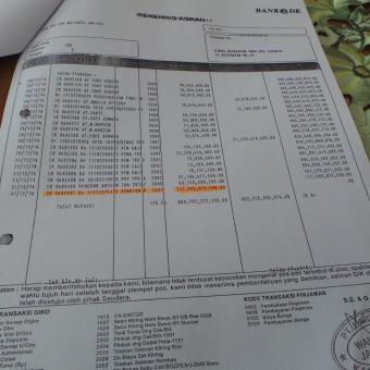 Ini Bukti Transfer Pembayaran Pembelian Lahan Rs Sumber Waras