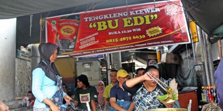 Tengkleng Bu Edi Klewer, Solo, Jawa Tengah