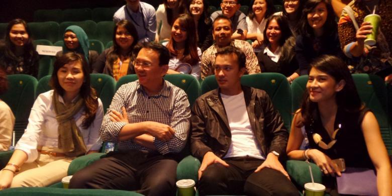 Ahok Akan Nonton Film Indonesia Lebih Banyak Lagi Di Bioskop