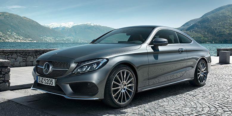 Mercedes C Class Coupe >> C Class Coupe Sedan Kencang Berbodi Atletis Kompas Com