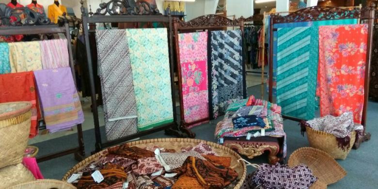 Galeri International Batik Center, di Pekalongan, Jawa Tengah.