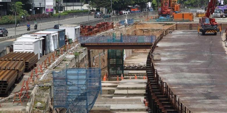 Pengerjaan Struktur Bawah Tanah Mrt Jakarta Sudah 68 Persen Kompas Com