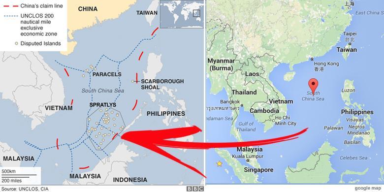 Laut China Selatan Perairan Menggiurkan Sumber Sengketa 6 Negara Gambar