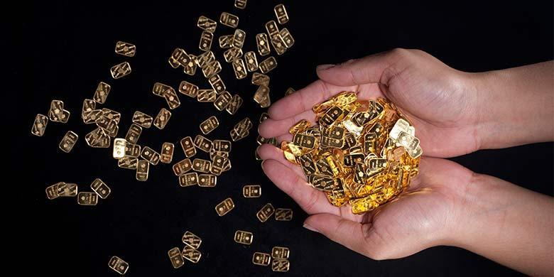 Harga Emas Hari Ini Rp 583000 Per Gram Kilaskementeriankompascom