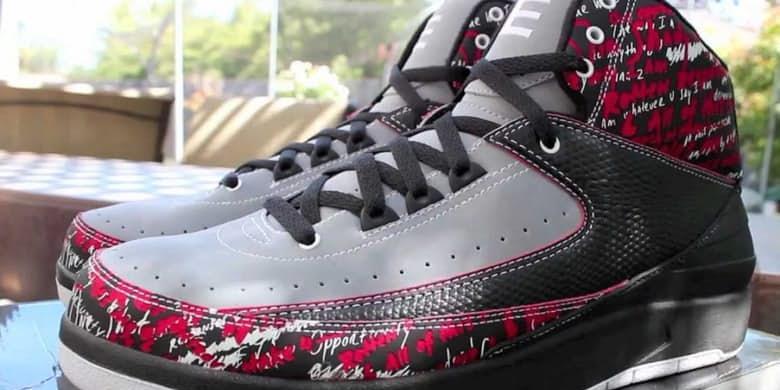 Berikut Uraian Tiga Sepatu Termahal Di Dunia Nike Air Jordan Retro II THERICHESTCOM