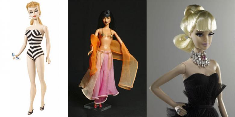 6 Boneka Barbie Termahal Sepanjang Sejarah Halaman All Kompas Com