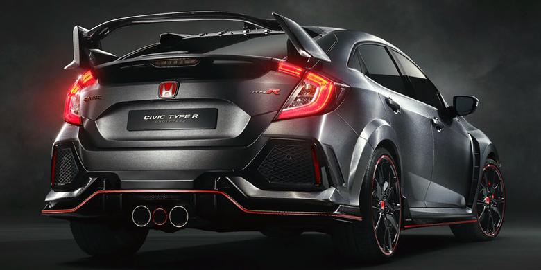Modifikasi Civic Type R Hadir Di Sema Kompascom