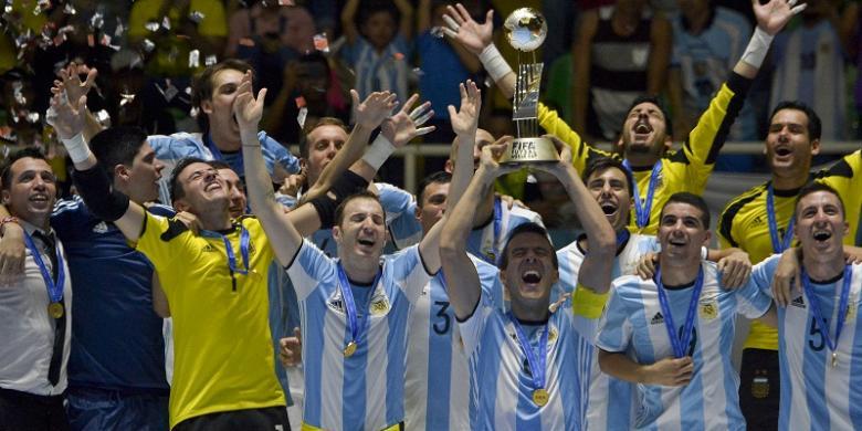 Argentina Juara Piala Dunia Futsal