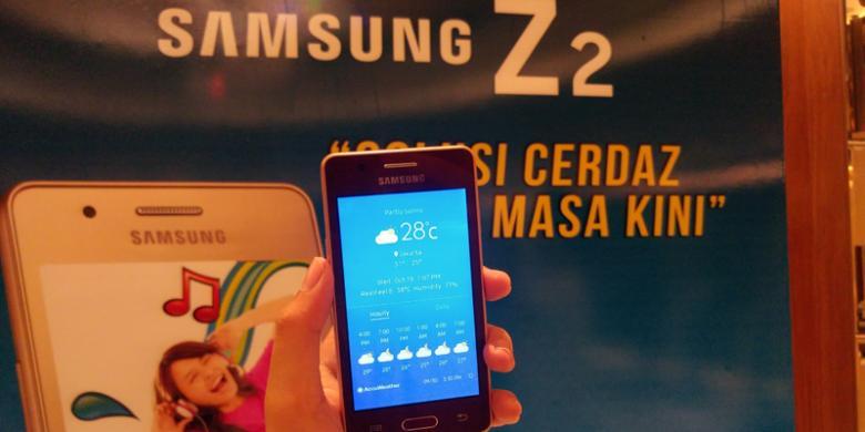 Samsung Resmikan Z2 Tizen Pertama Di Indonesia Dijual Rp 899 000