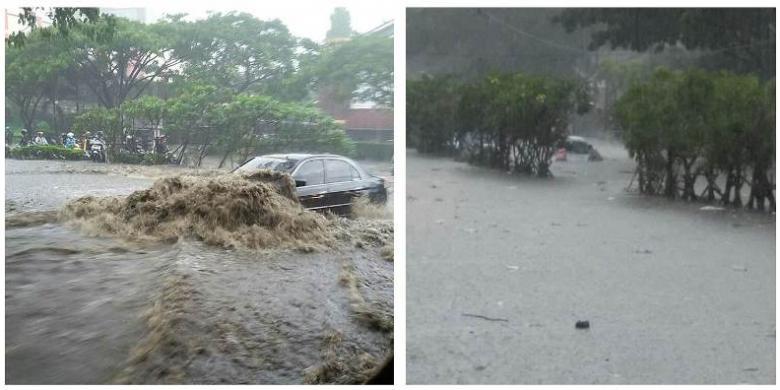 kerugian banjir bandung capai rp 16 miliar rh regional kompas com