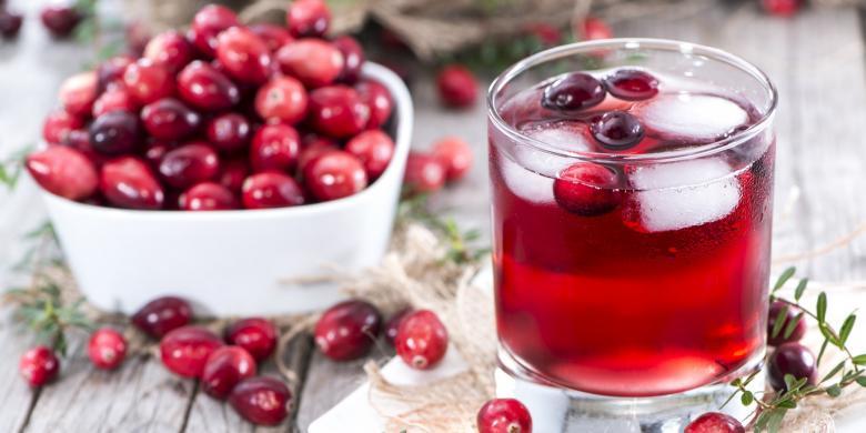 Hasil gambar untuk jus cranberry
