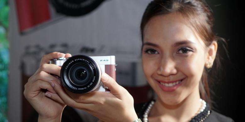 Resmi Mirrorless Selfie Fujifilm X A3 Dijual Rp 88 Juta Di Indonesia