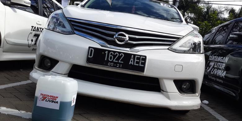Cuma 7 Liter, Nissan Grand Livina Bandung-Jakarta - Kompas.com