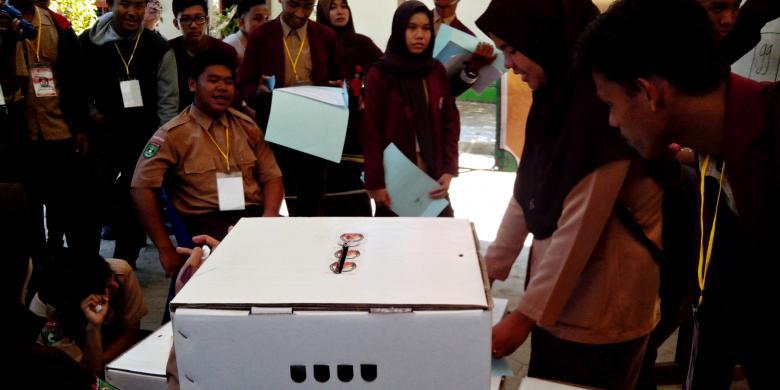 Didukung Kpu Smun 1 Nunukan Gelar Pemilu Ketua Osis Kompas Com