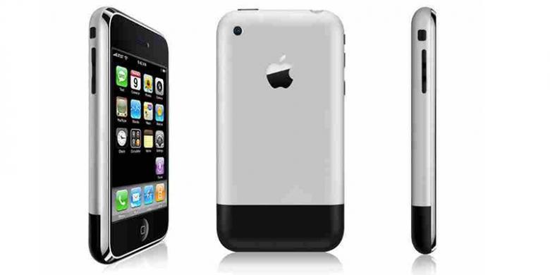 Meroketnya Harga iPhone Generasi Pertama - Kompas.com 50bbd23d3b