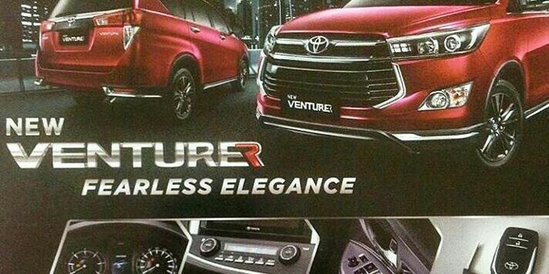Harga Toyota Innova Venturer Mulai Beredar Kompas Com