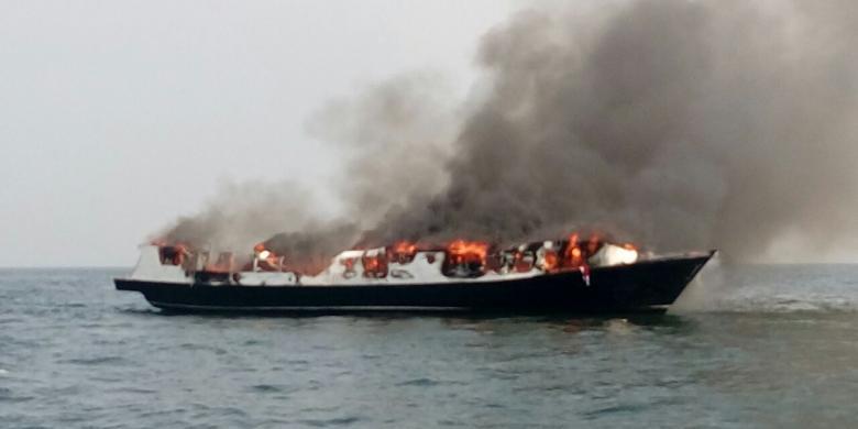 Korban Tewas Dalam Kapal Yang Terbakar Di Kepulauan Seribu Bertambah