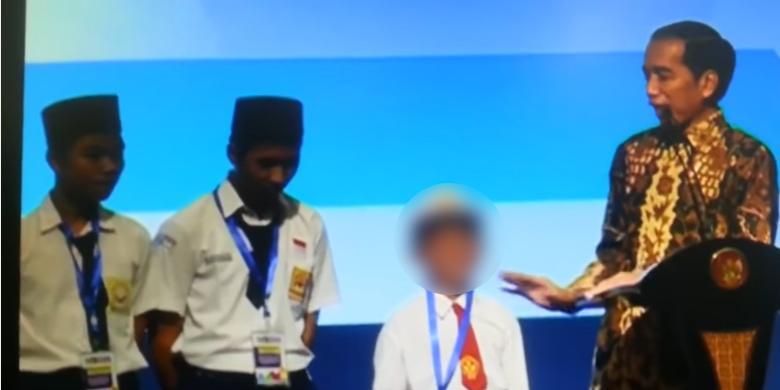 Video seorang anak SD yang salah menyebut nama ikan di depan Presiden Jokowi. Peristiwa ini terjadi saat Jokowi membuka Rembuk Nasional Pendidikan dan Kebudayaan 2017, di Jakarta International Expo, Kemayoran, Jakarta, Kamis (26/1/2017).