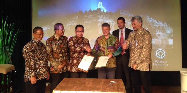 Manajemen Candi Borobudur Kembangkan Aplikasi Untuk Turis Kompas Com