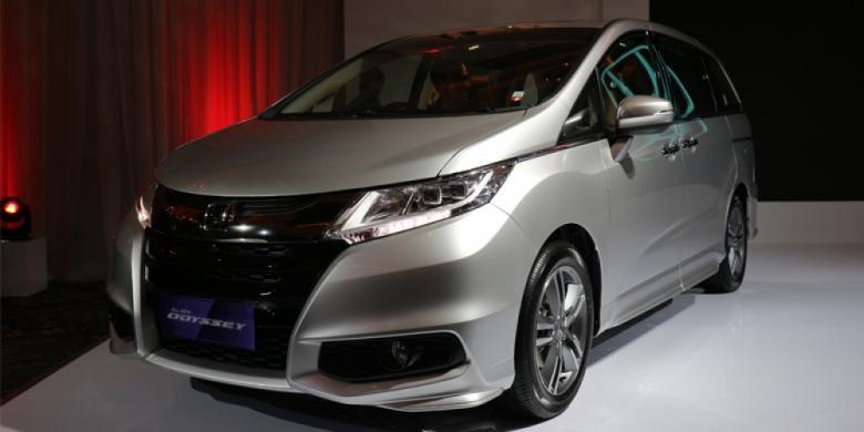 All New Honda Odyssey 2017 Ghulam Kompasotomotif