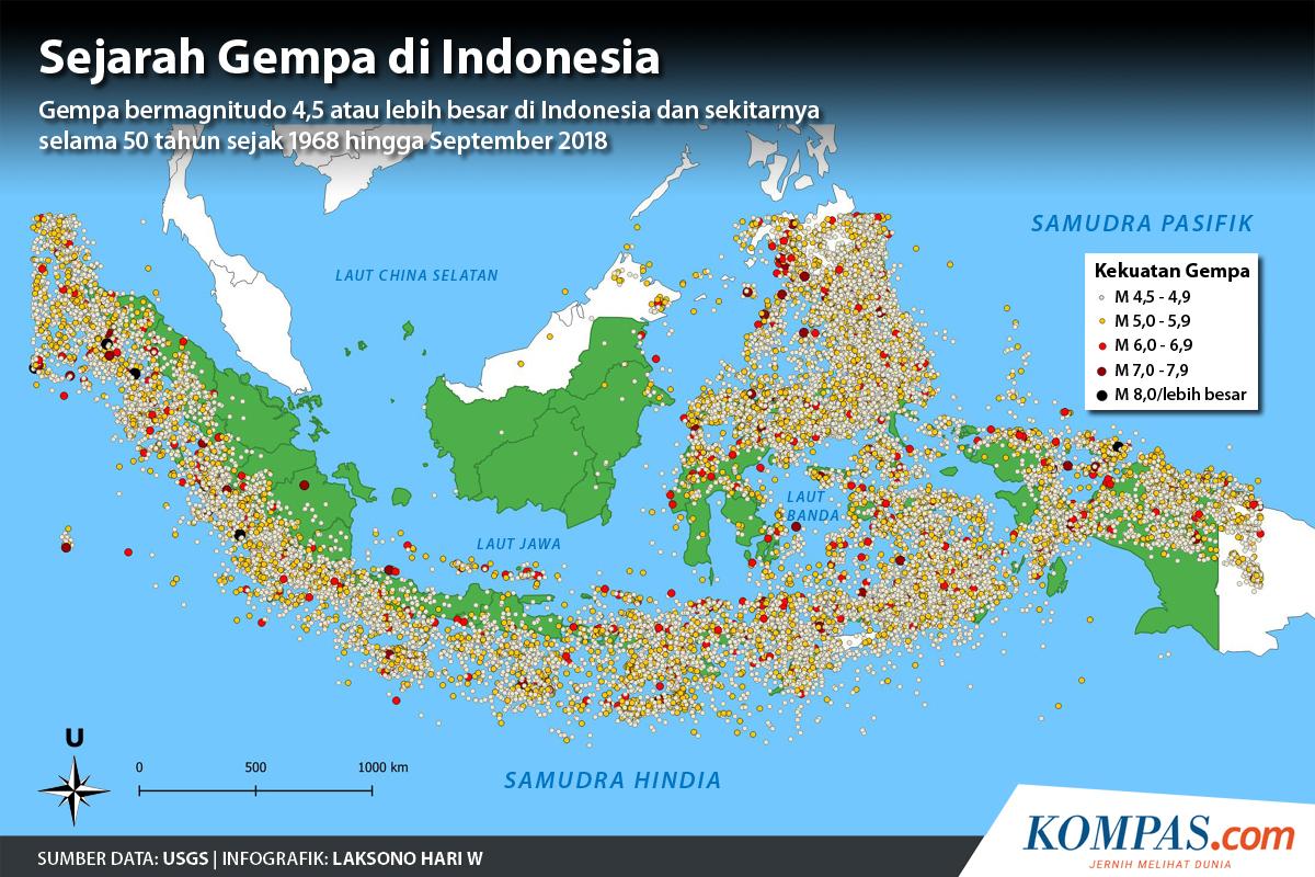 Ramai Soal Gempa Megathrust Jangan Panik Ini Yang Perlu Kita Pahami Halaman All Kompas Com