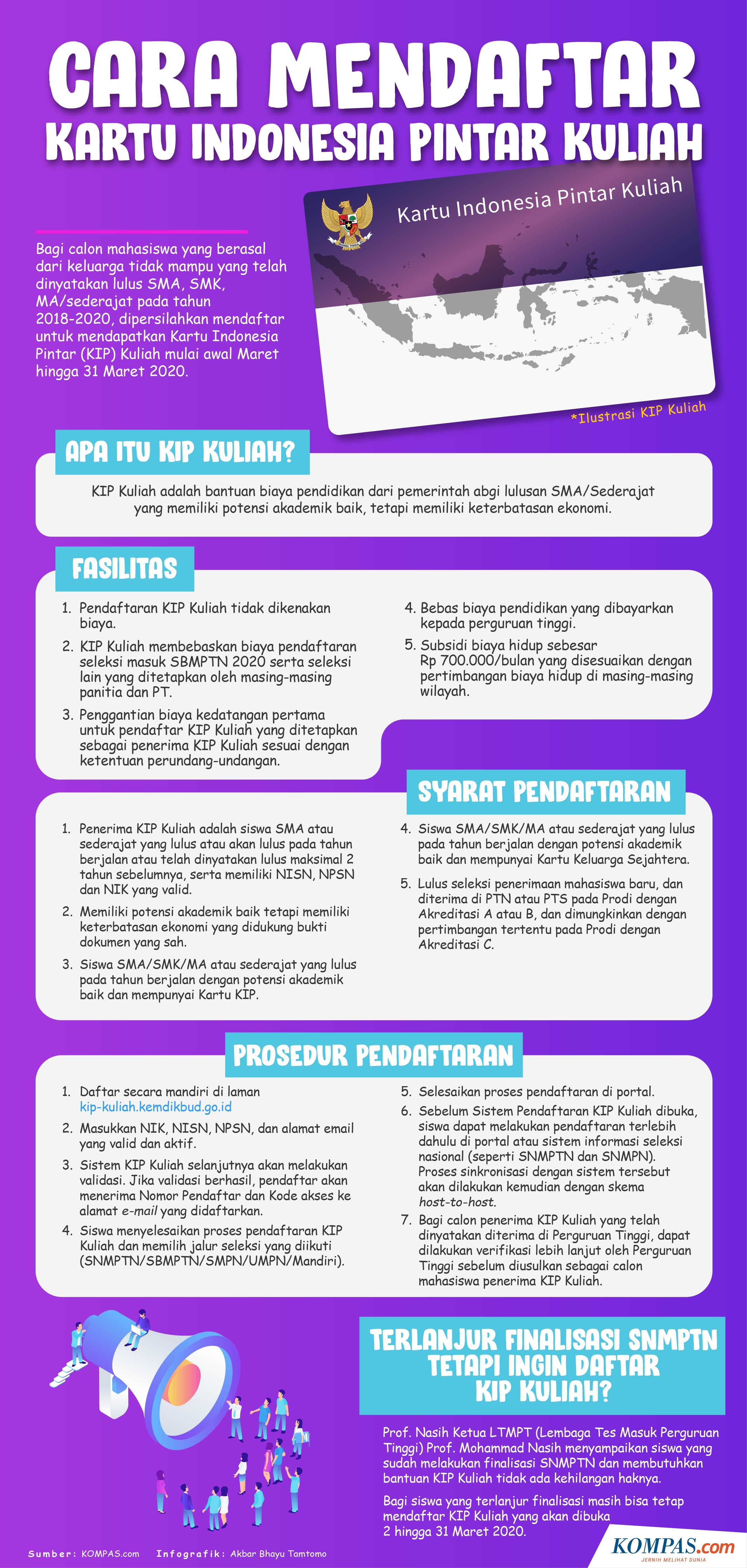 Cara Mendapatkan Nomor Pendaftaran Kip Kuliah - Peranti Guru