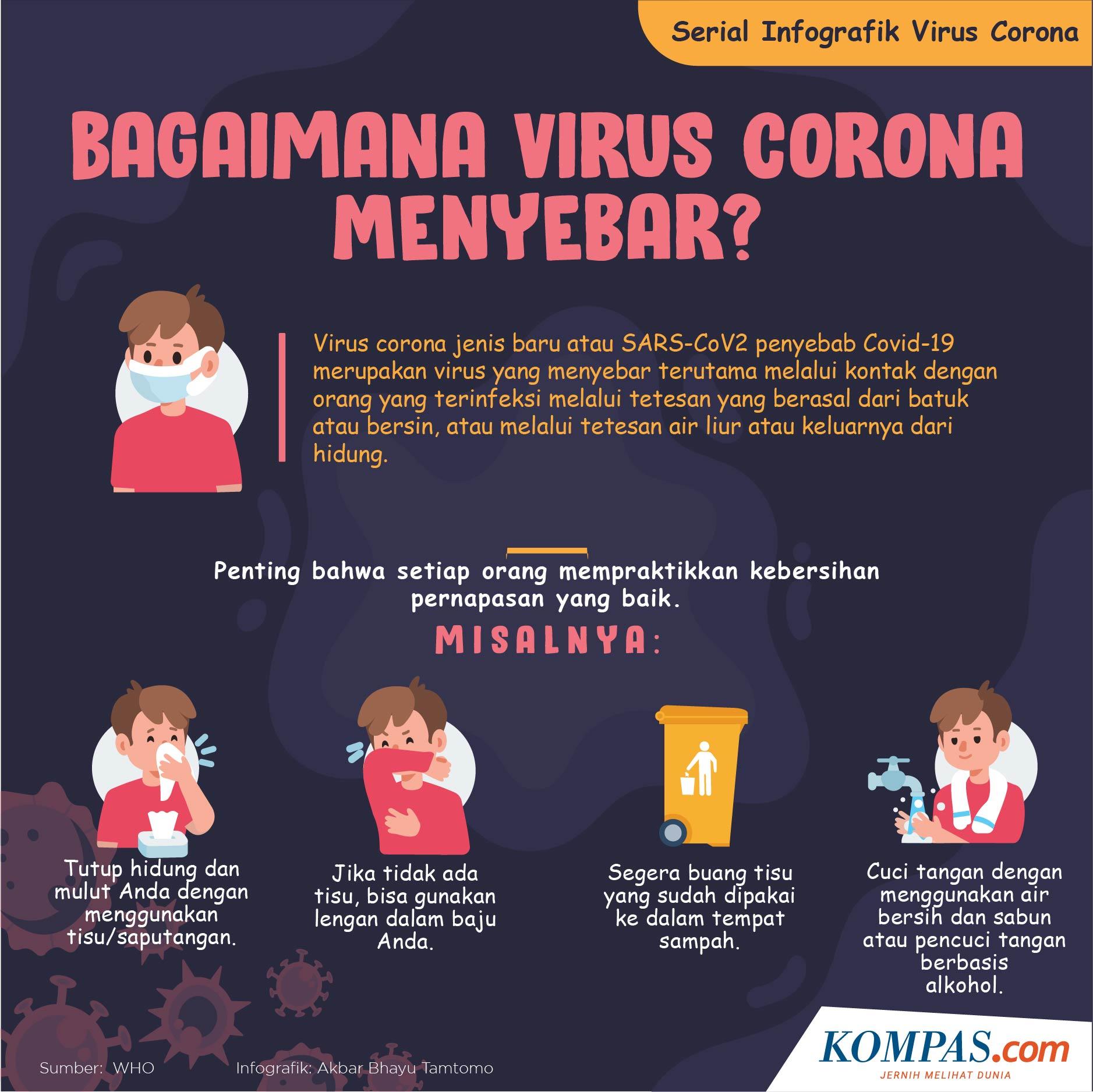 Kenali Masa Inkubasi Virus Corona Di Dalam Tubuh Berapa Lama Halaman All Kompas Com