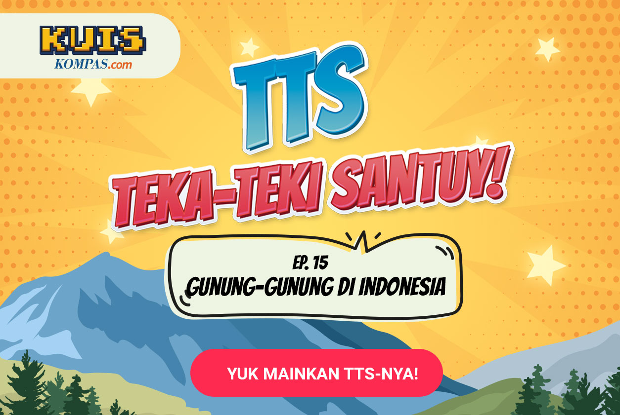 TTS - Teka-Teki Santuy Ep. 15 Gunung-gunung Di Indonesia