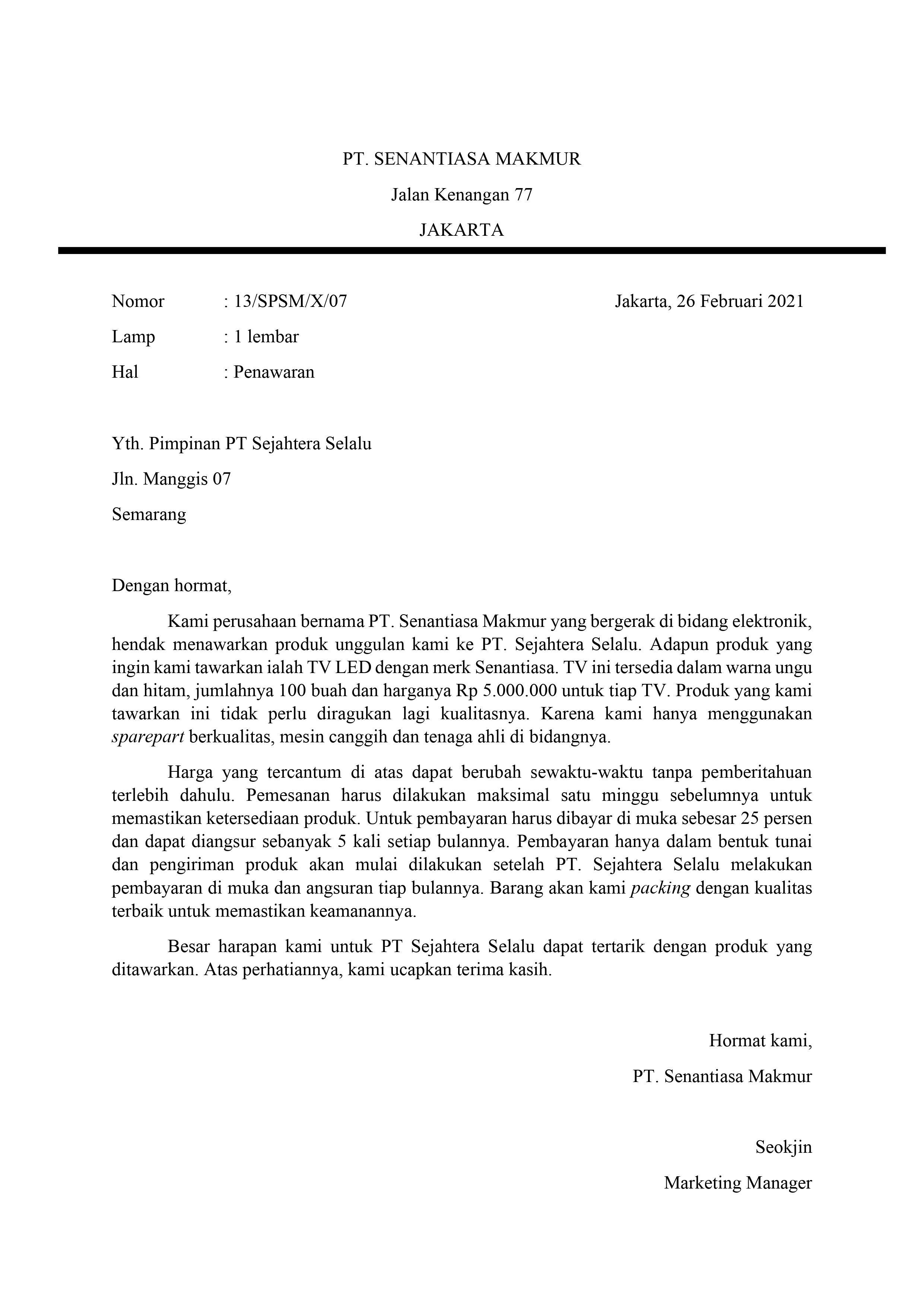 17+ Contoh surat jawaban resmi terbaru yang baik