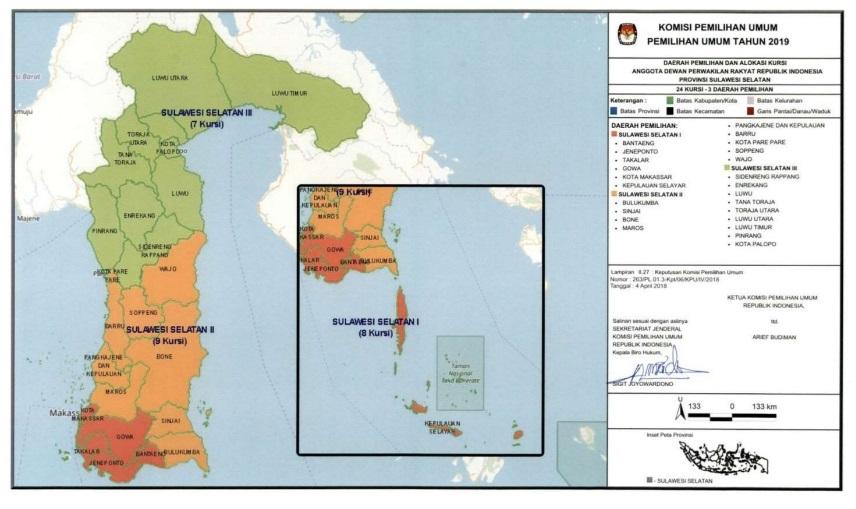 Sulawesi Selatan, Peta Tak Terprediksi Jokowi-Ma'ruf vs