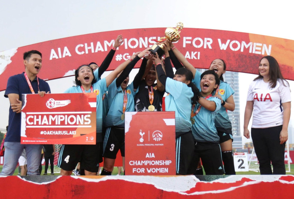 Laga Pertandingan AIA Championship For Woman