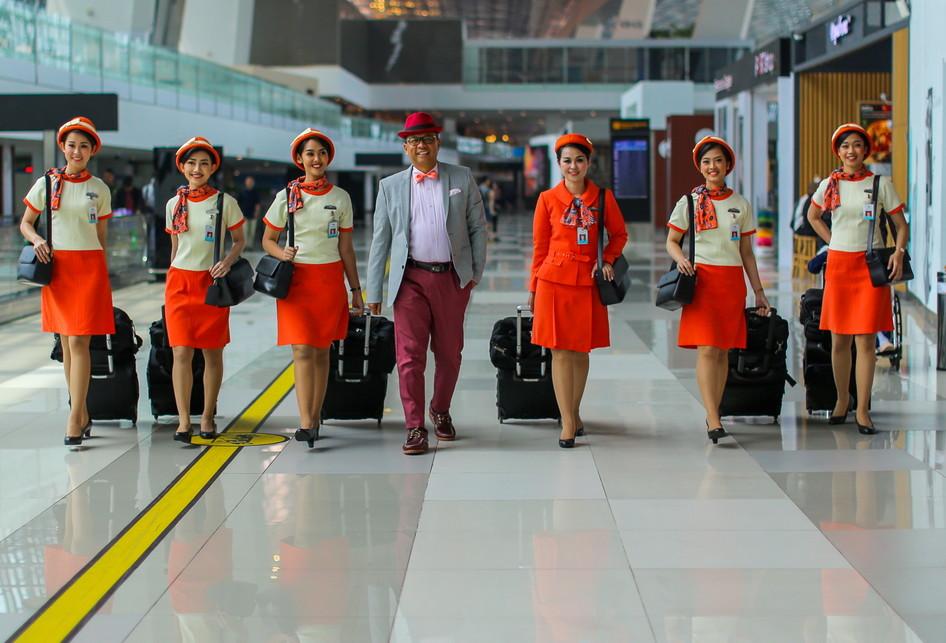 Garuda Indonesia Vintage Flight Experience