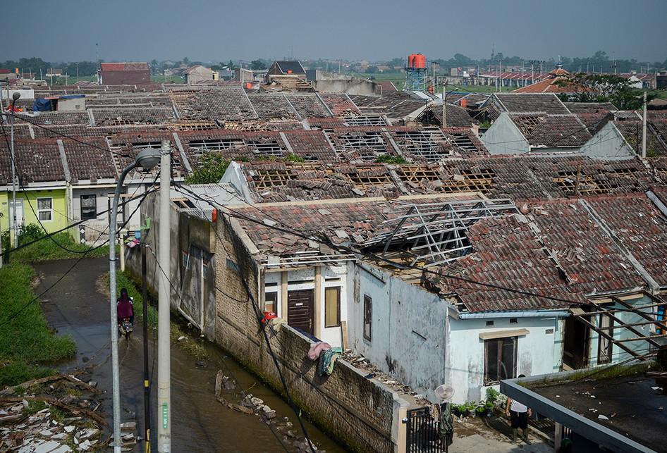 Puting Beliung Hantam Kabupaten Bandung dan Sekitar