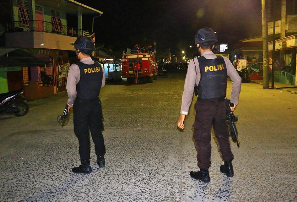 Ledakan di Rumah Terduga Teroris di Sibolga