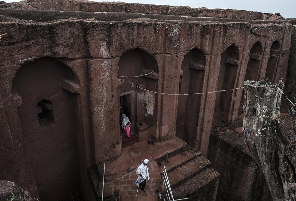 Gereja-gereja Batu Lalibela di Ethiopia