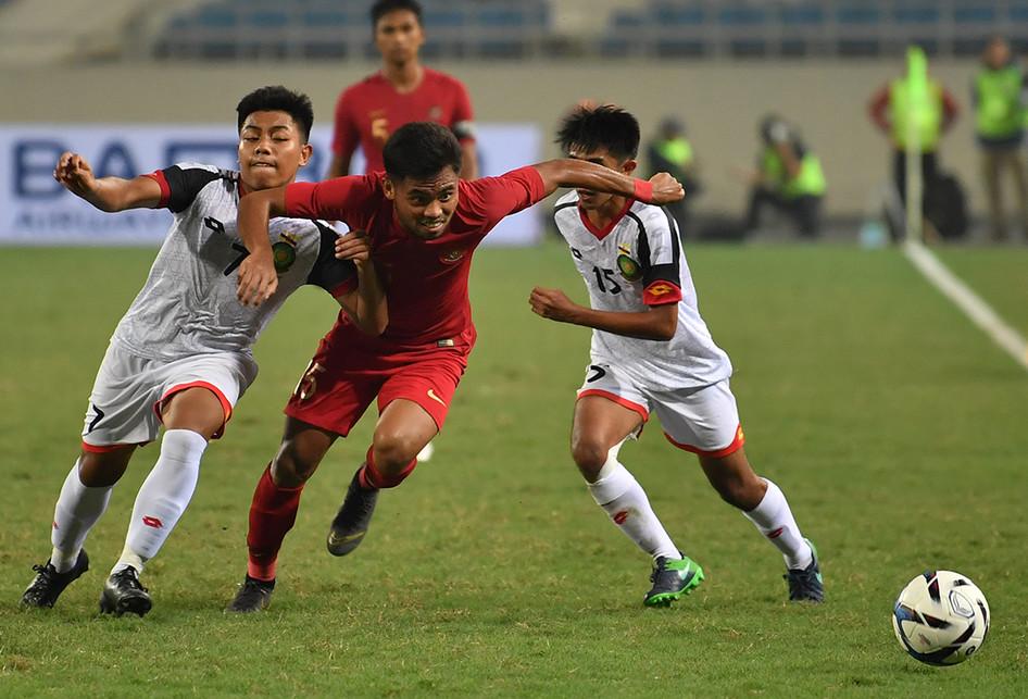 Timnas U-23 Indonesia Vs Brunei