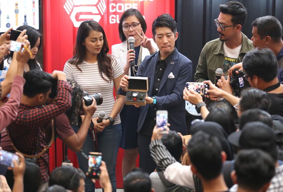 'Pesta' Peluncuran Generasi Baru Arloji G-Shock Berbahan Karbon