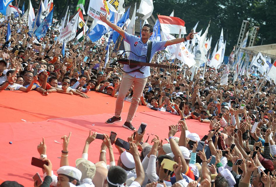 Sepekan Terakhir Kampanye Prabowo-Sandi