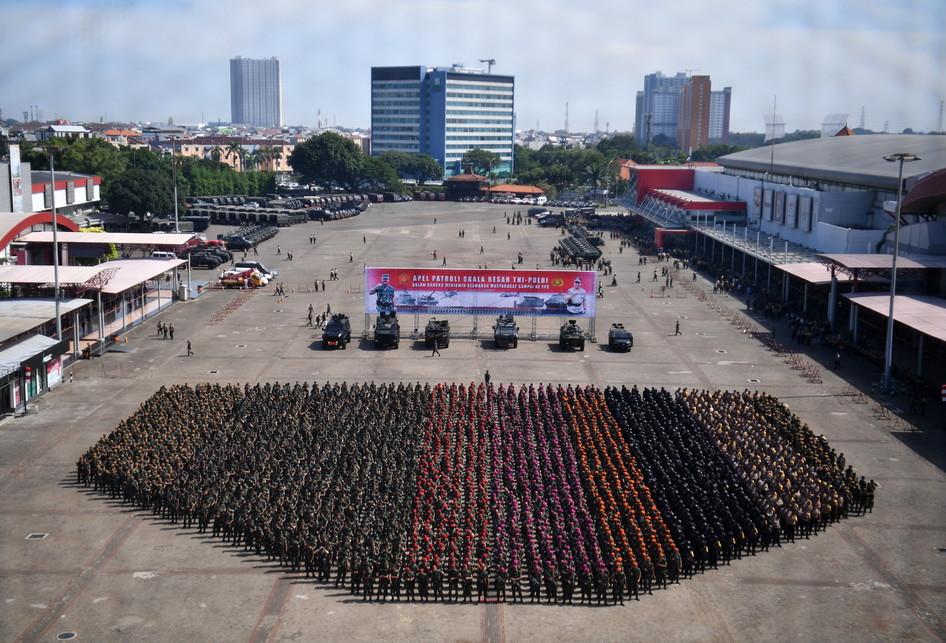 TNI DAN POLRI JAMIN KEAMANAN PEMILU SERENTAK 2019