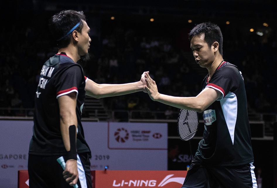 Atlet Indonesia di Partai Final Singapore Open 2019